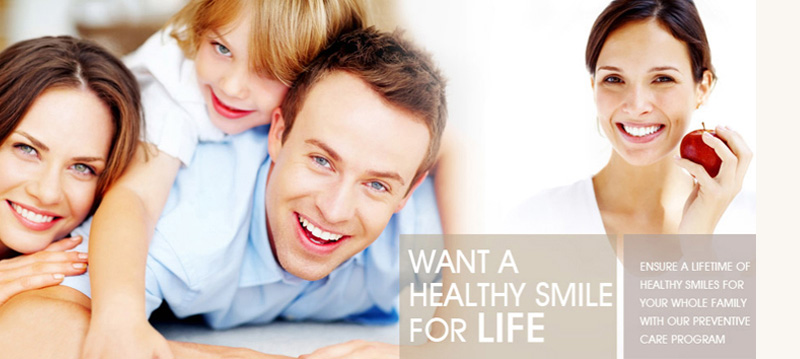 Want a healthy smile for life