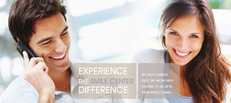 Smile center difference